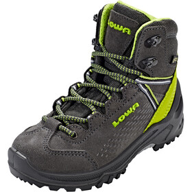Lowa Ledro GTX Mid Shoes Kinder anthracite/lime